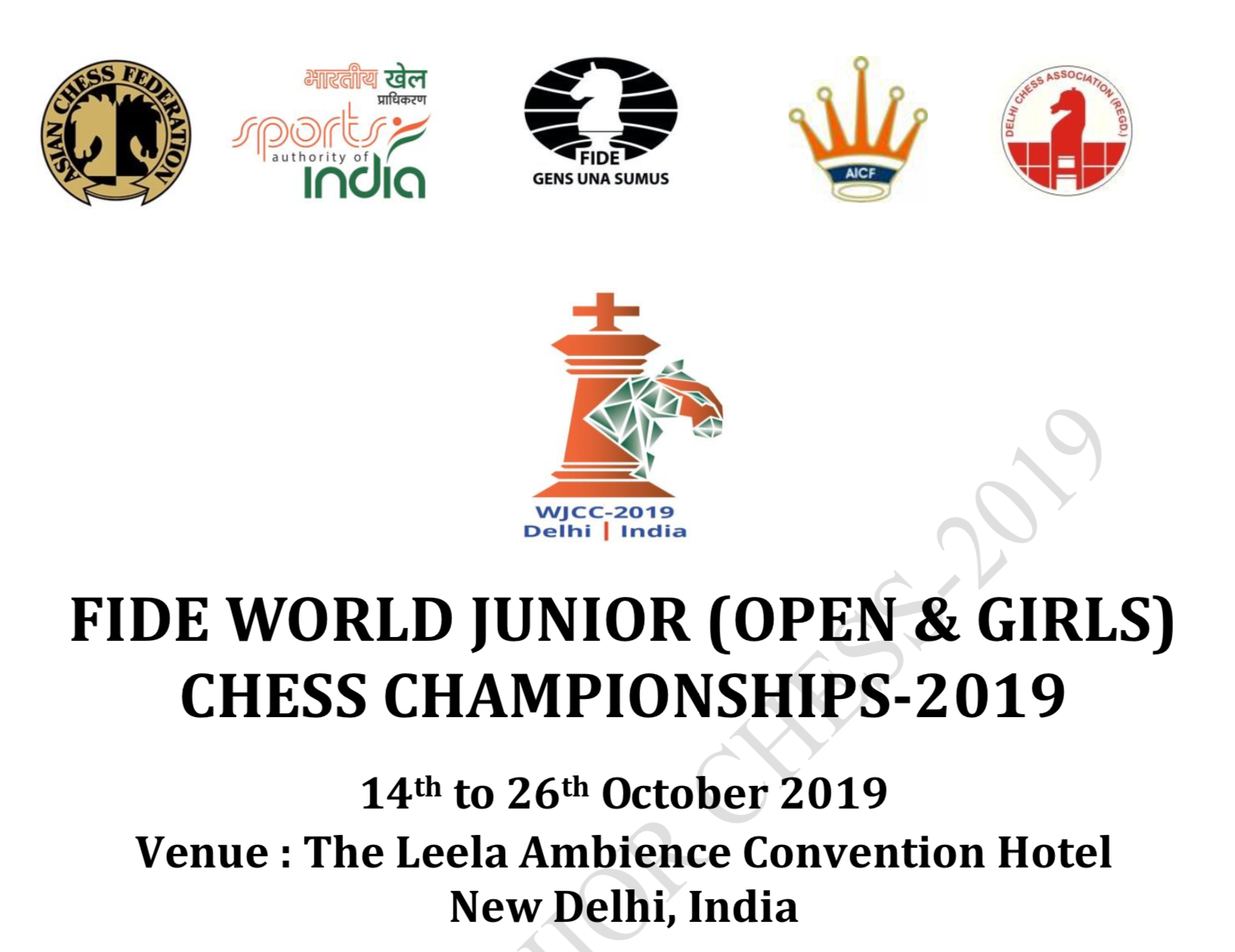 FIDE World Junior Chess Championships 2019 – Malaysian Chess Federation