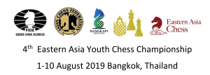 4th Eastern Asia Youth Chess Championship