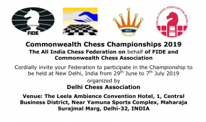 Commonwealth Chess Championships 2019