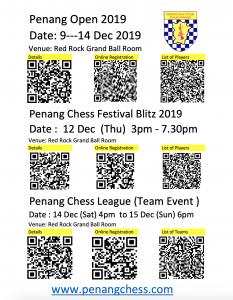 Penang Open 2019