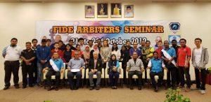 FIDE Arbiters' Seminar in Rompin, Pahang, Malaysia (October 2019) – Report